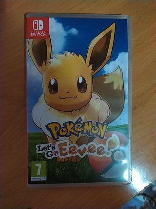 Pokemon let's go eevee para nintendo Switch