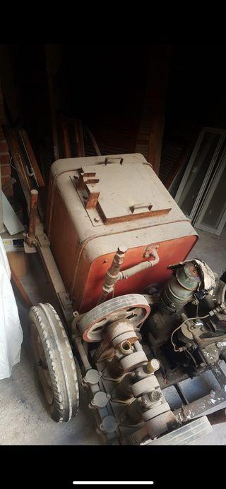 tractor de fumigar