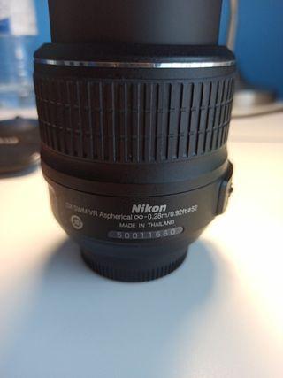 Objetivo Nikon DX