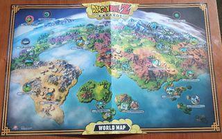 Mapa mundo Kakarot
