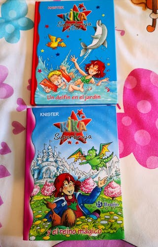 Pack Kika Superbruja 2 libros