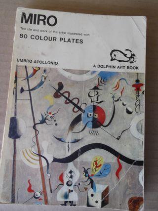 """Libro antiguo """"Miró"""". Made in USA. 1969. Apollonio"""