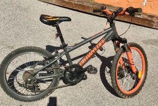 Bicicleta infantil BTWIN WILDEE ( Decatlón) 20'