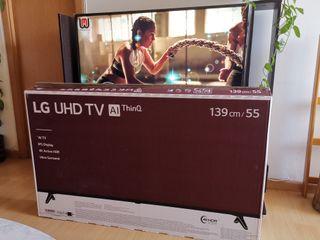 "LG SmarTV 55"" UHD4K HDR Inteligencia Artificial"