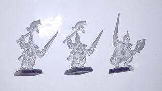 Tres corsarios Elfos Oscuros 4ª edición sin pintar