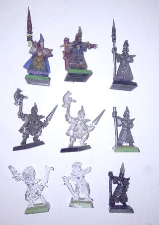 Pack elfos oscuros 4ª edición rotos
