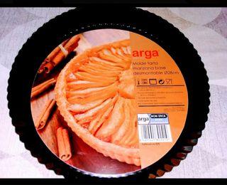 Molde tarta fondo desmontable, rizado 28 cm.Nuevo