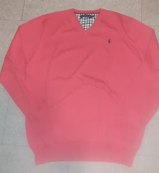 Sueter color rojo Ralph Lauren