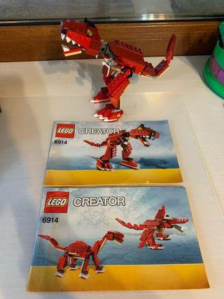 Lego 6914 cazadores prehistóricos Dinosaurios