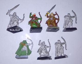 7 forestales elfos silvanos 5ª edición