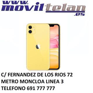 IPHONE 11 256GB AMARILLO PRECINTADO GARANTIA