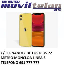 IPHONE 11 128GB AMARILLO PRECINTADO GARANTIA