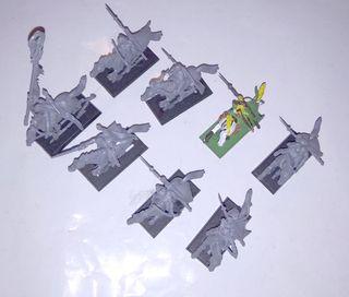 8 Jinetes del bosque elfos silvanos