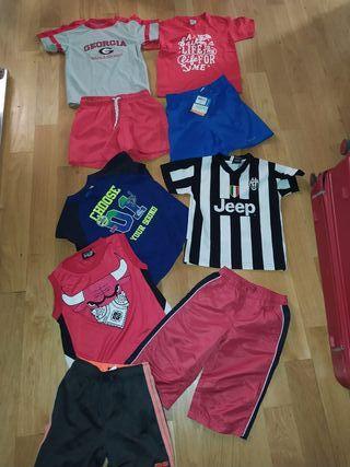 lote de niño de ropa deportiva de 4 a 5 años práct