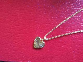 Collar corazón Tendencias en plata