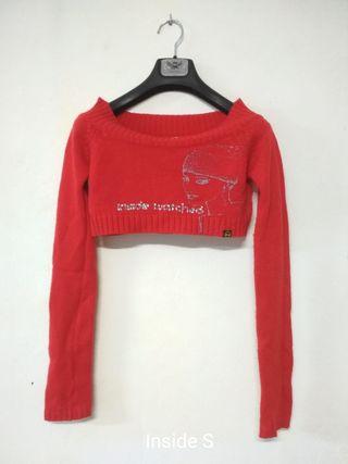 Jersey-torera Inside rojo con dibujo