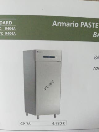 armario frigorífico pastelería 60x80