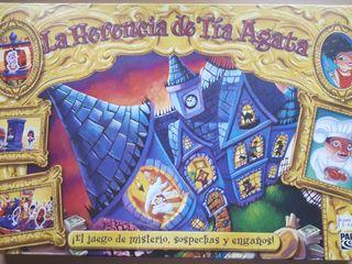 Juego de mesa La Herencia de Tía Agata.