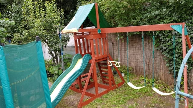 Discovery adventure swing set