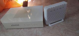 Router Orange ADSL multimedia livebox + ONT, se in
