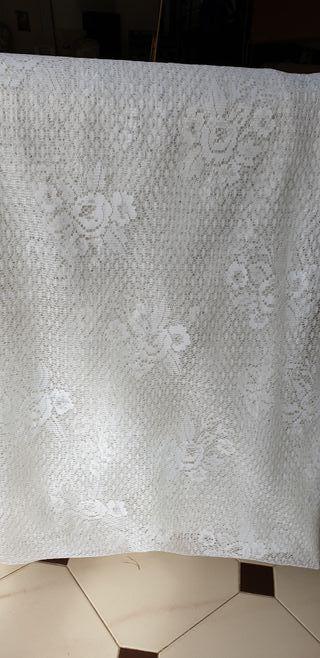 Tela para cortina de encaje
