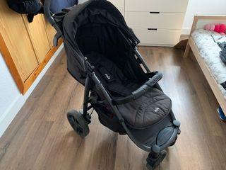 Carrito bebe Joie litetrax 4 con saco Kaiser.