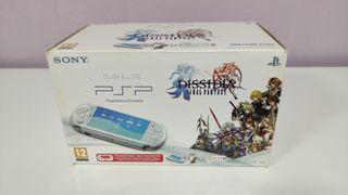 Psp 3004 Pearl White Dissidia Final Fantasy Bundle
