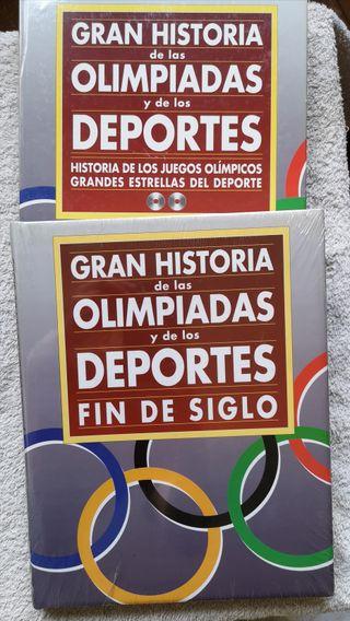Libro Historia de las Olimpiadas y Deportes 2010