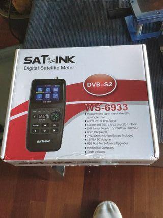 Satlink WS6933 medidor de campo