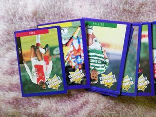 cromos panini fútbol europeo 1993