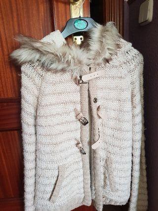 Chaqueta lana y borreguito