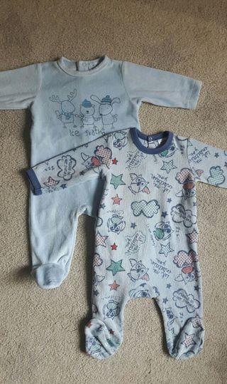 Lote pijamas 3-6 meses