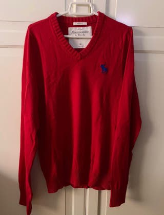 ABERCROMBIE & FITCH jersey rojo