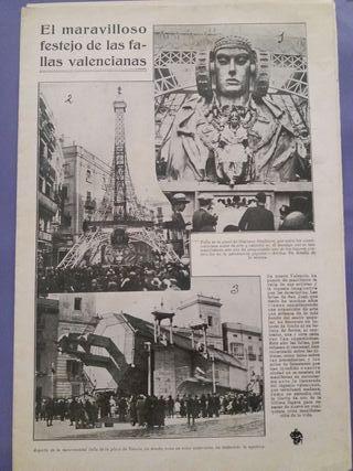 Semana Gráfica Año 1929: Especial Fallas Valencia