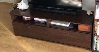 IKEA mueble tv marrón