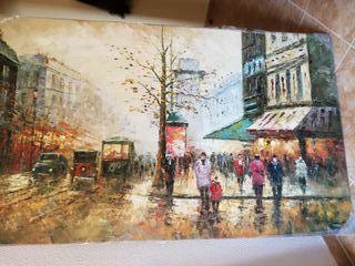Pintura impresionista a oleo