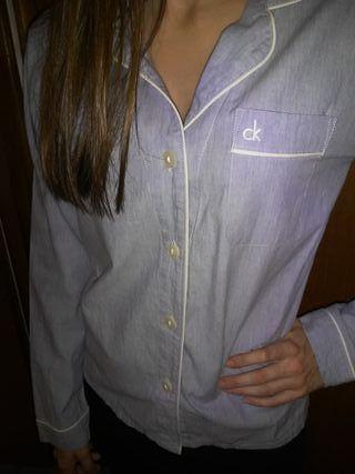 Camisa de Pijama Calvin Klein