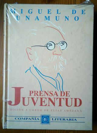 Prensa de juventud. Miguel de Unamuno