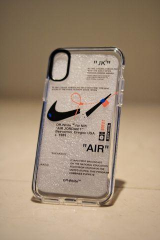 Funda iPhone X/XS Nike x Off-White
