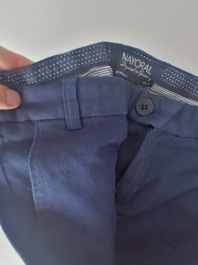 lote 4 pantalones MAYORAL niño T. 7