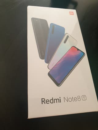 Xiaomi Redmi Note 8T Negro 4GB +64 GB RAM
