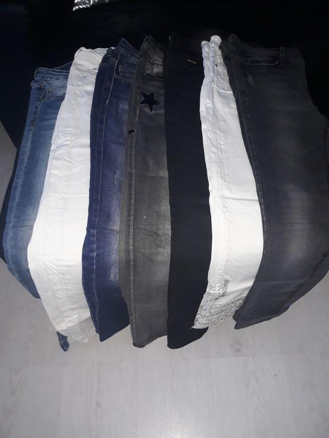 lote pantalones chica
