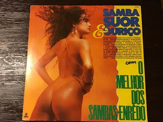 SAMBA SUDOR & OURIÇO LP VINILO OMELHOR DOLS SAMBAS