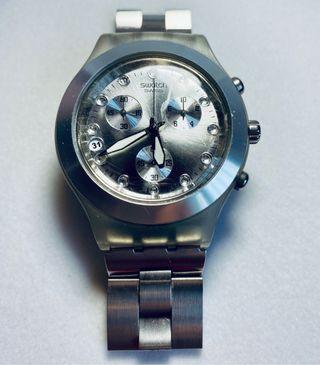 Reloj Swatch Aluminio y Acero.