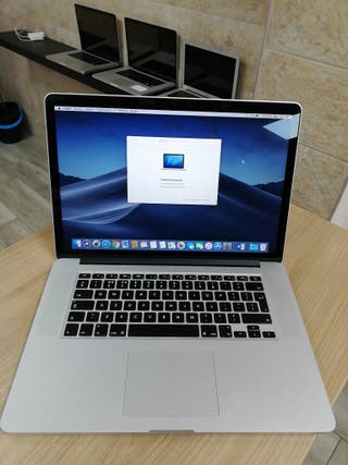 Macbook pro i7 8GB 15 pulgadas Captan