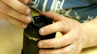Reparación de objetivos cámaras DSLR