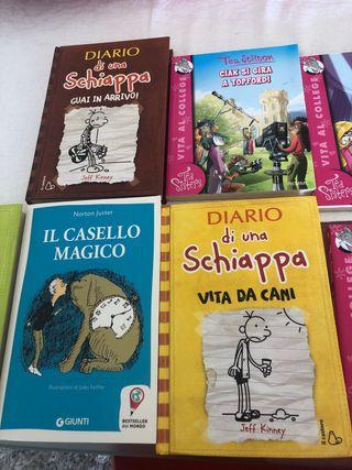 Lote 7 Libros infantil en luenga Italiana