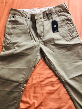 G Star pantalon chino veige talla 43