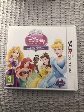 Juego Nintendo 3Ds princesas Disney