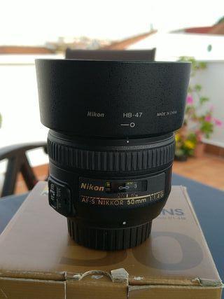 Objetivo Nikon AF-S 50mm f/1.4
